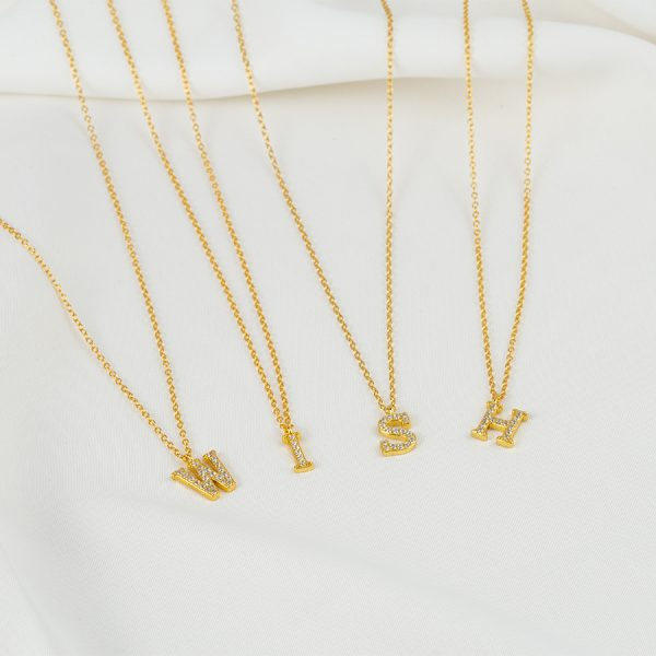 inital necklace